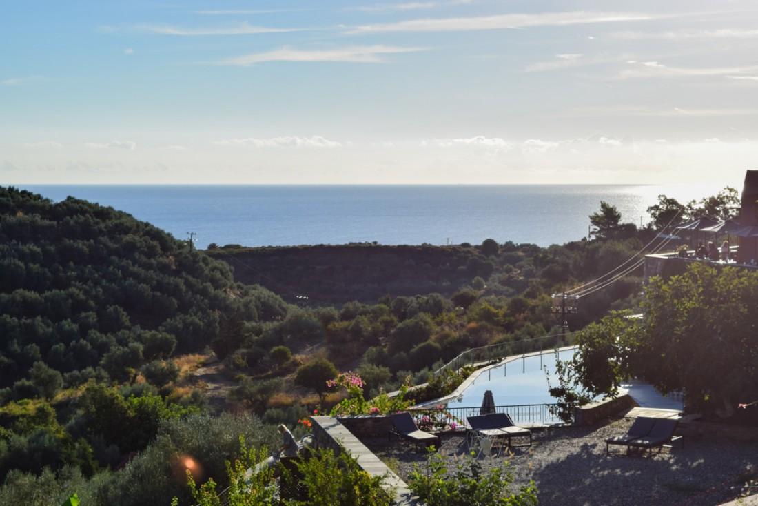 Le Kinsterna Hotel & Spa, un hôtel avec vue, perché sur les collines © MB | YONDER.fr