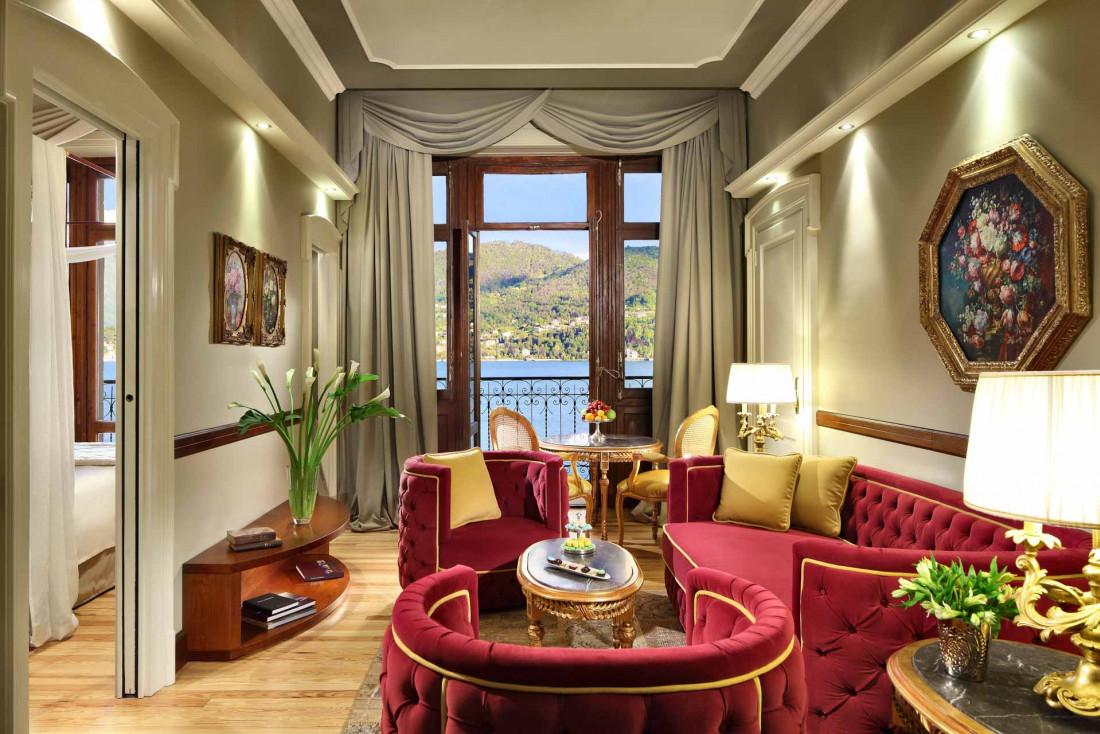 Signature Suite à la vue sur le lac © Grand Hotel Tremezzo