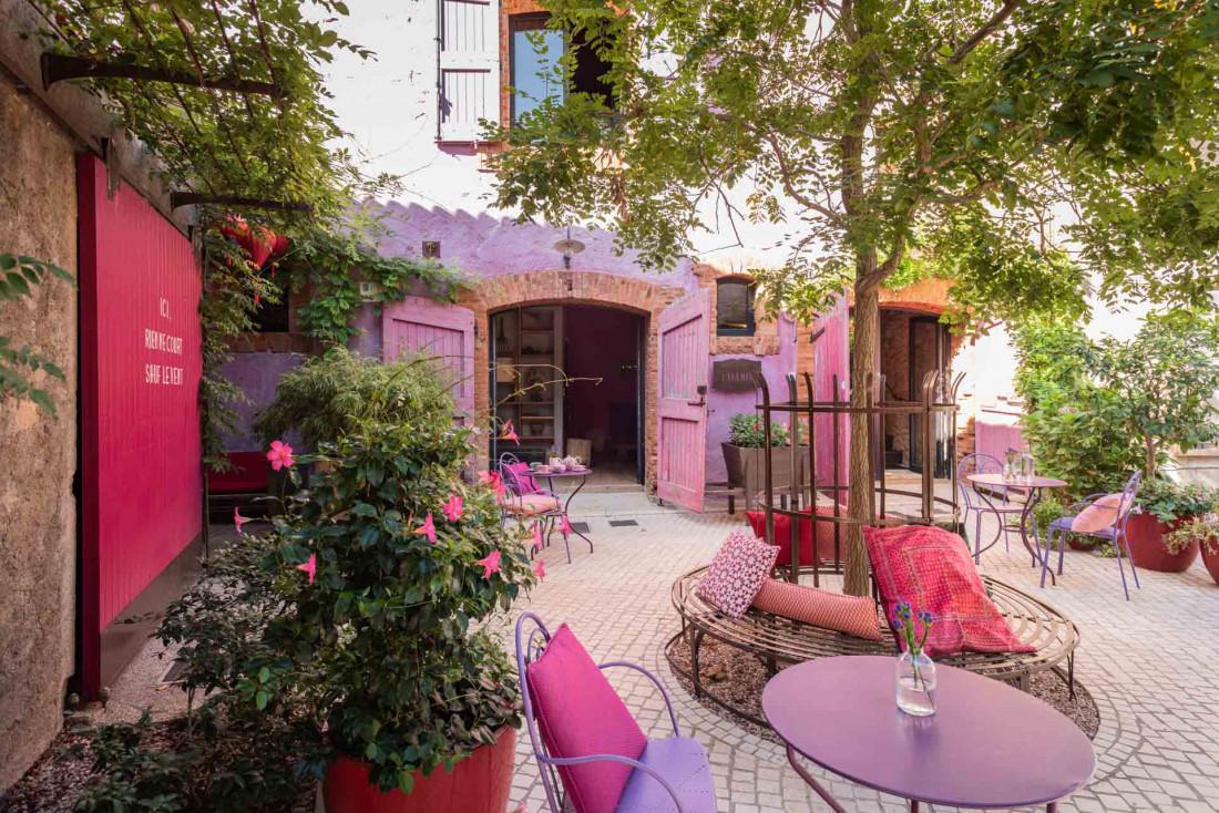 Castigno, un village du Sud de la France abritant à chaque coin de rue une partie d'un hôtel © DR