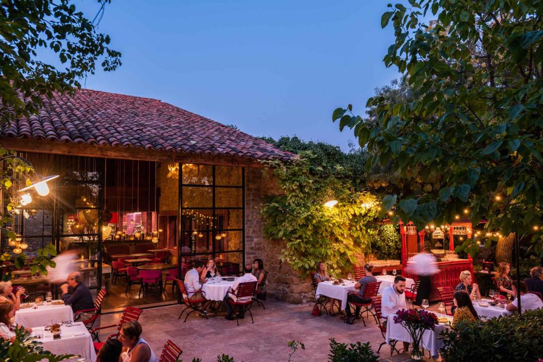 Le restaurant étoilé La Table dans le village de Castigno © DR