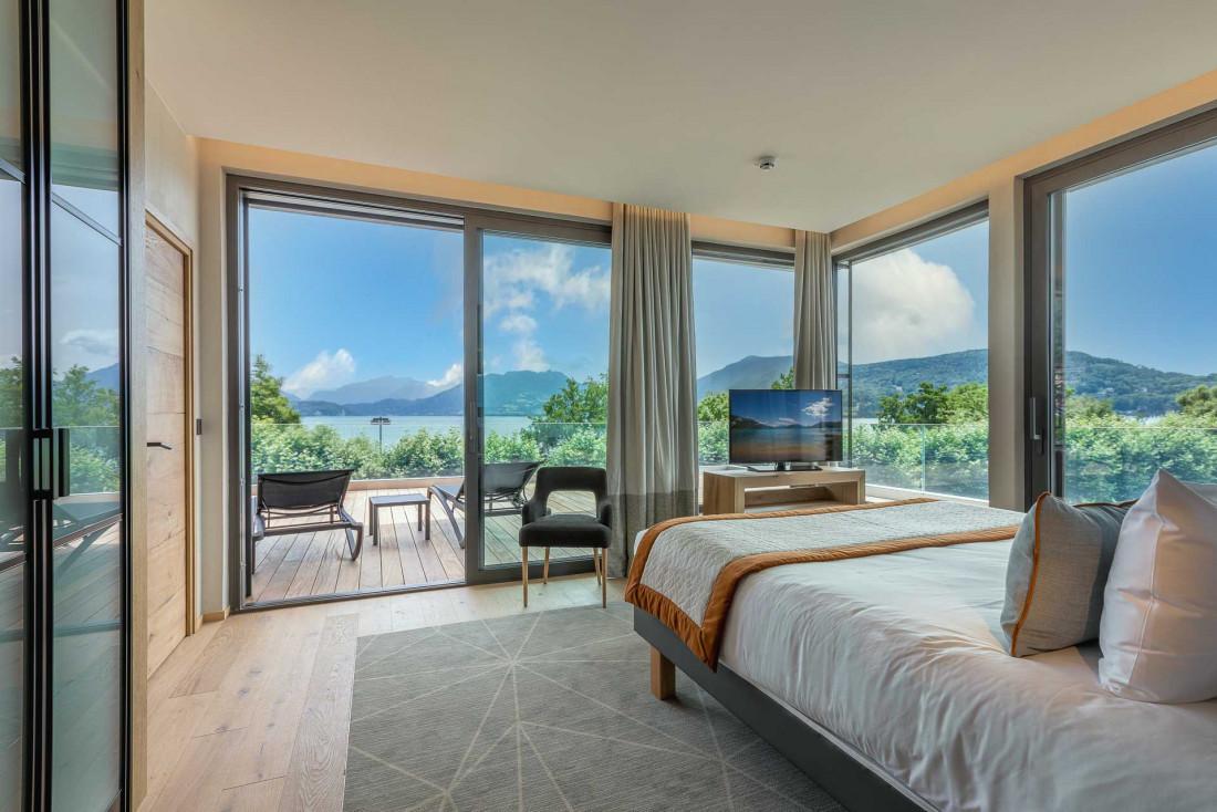 Le Rivage Hôtel & Spa, nouvelle adresse 4-étoiles sur les bords du lac d'Annecy © Anne Moscatello