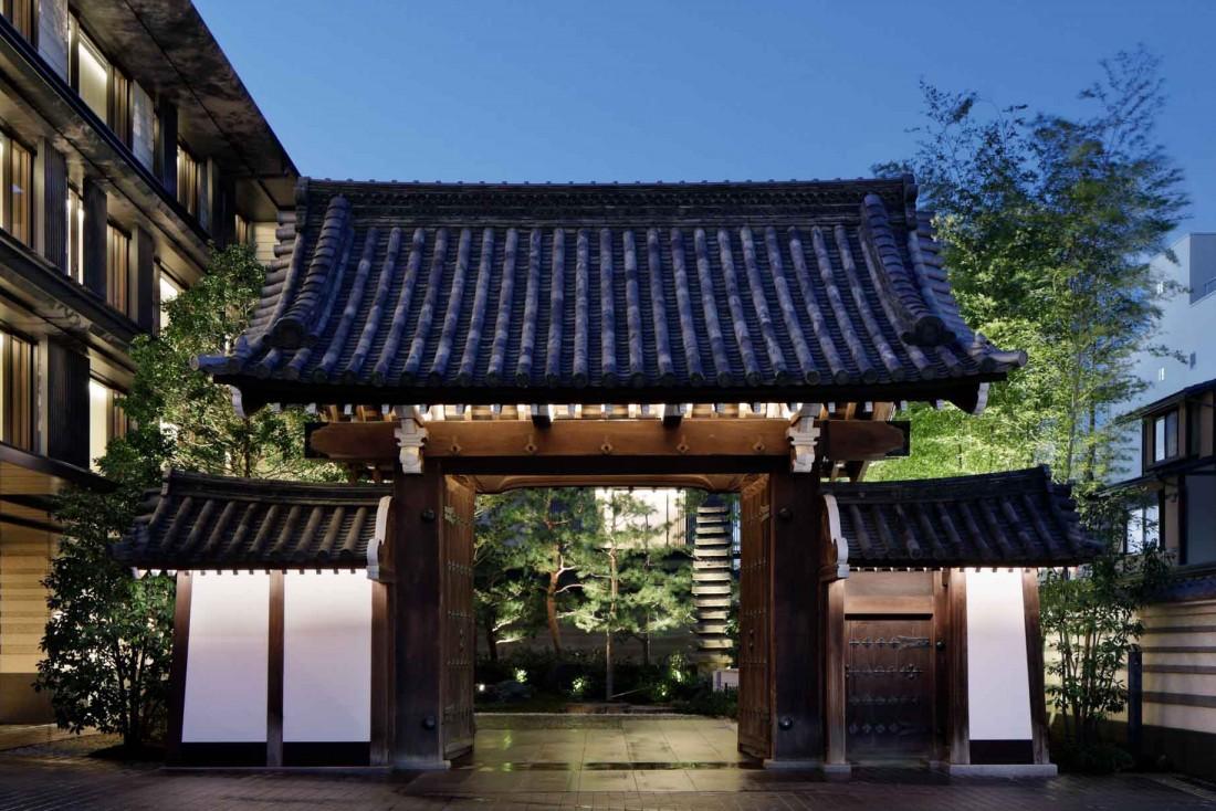 The Mitsui Kyoto | L'hôtel se fond dans l'héritage de la famille Mitsui dont il investit l'ancienne demeure © DR