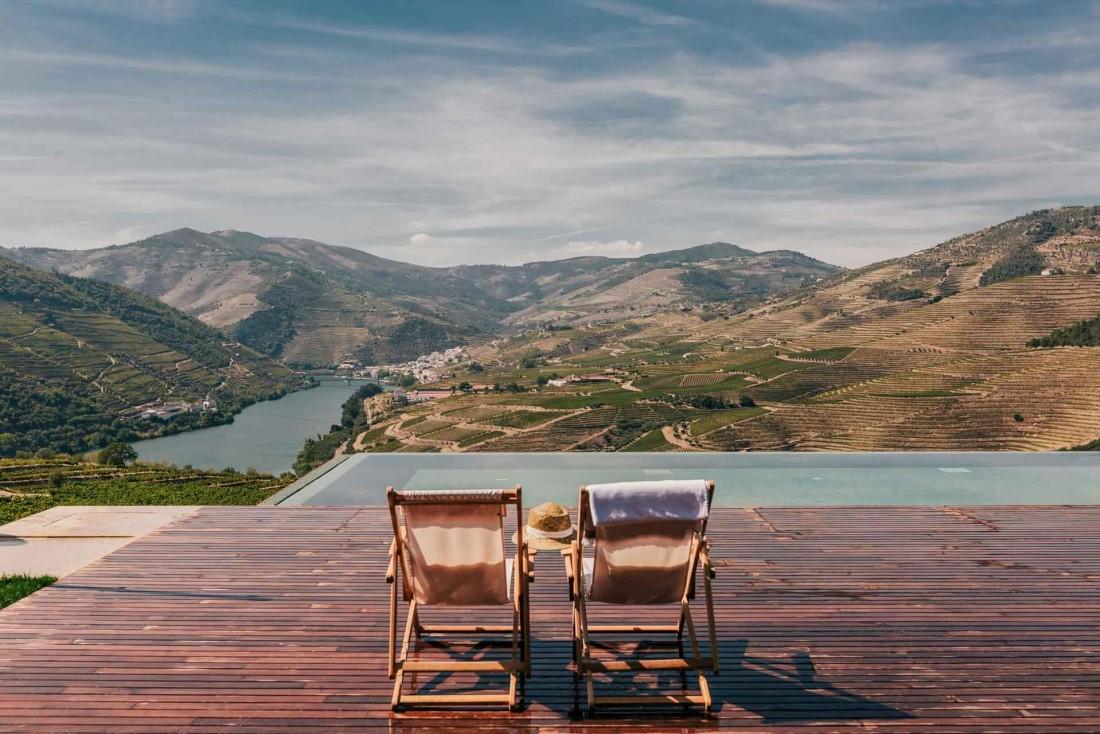 La Quinta Ventozelo se situe dans la haute vallée du Douro, à deux heures de route de Porto © DR