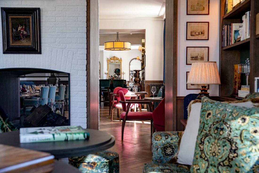 Le designer anglais Alex Michaelis a imaginé un décor raffiné mais sans ostentation ©G. Gardette