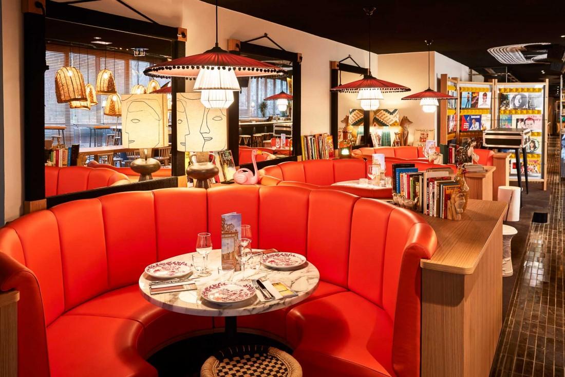 Inspirations du monde entier et détails typiquement parisiens font la décoration du nouveau Mama Shelter Paris West.