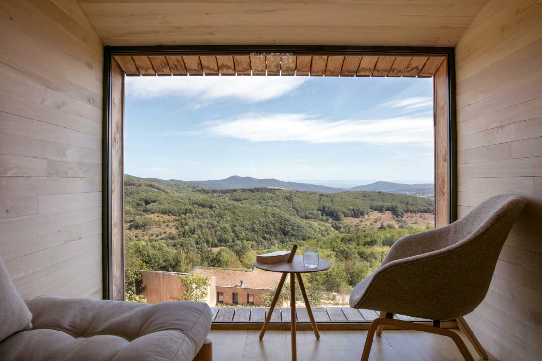 Chambre avec vue au 48° Nord, l'un des hôtels les plus atypiques d'Alsace © DRa