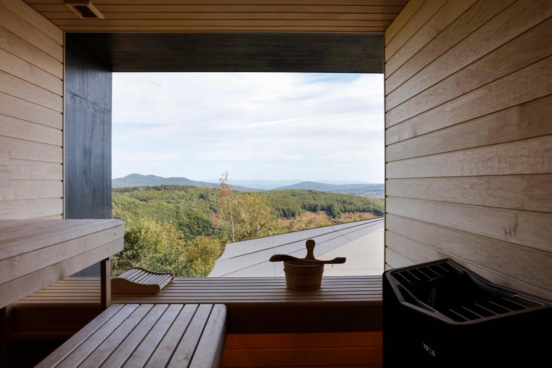 48° Nord, une hôtel cabane de style scandinave © Yann Moreau