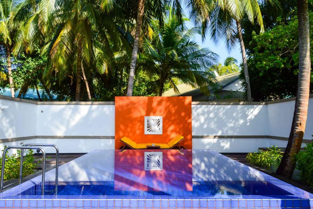 Certains hébergement possèdent leur propre piscine © Pierre Gunther