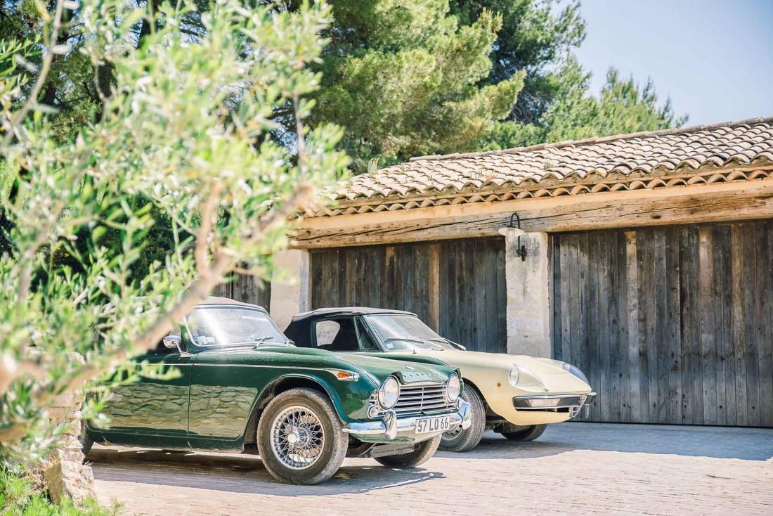Un must : louer une voiture de collection pour découvrir la région © Sebastien Cabanes