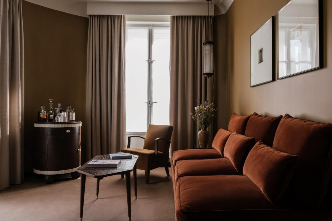 L'Hôtel Rochechouart ouvre ses portes sur le boulevard éponyme, à deux pas de Pigalle © Ludovic Balay