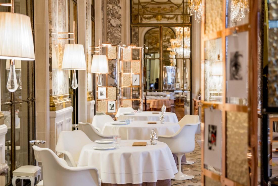 Le Restaurant Alain Ducasse au Meurice, le plus ancien des palaces parisiens © DR