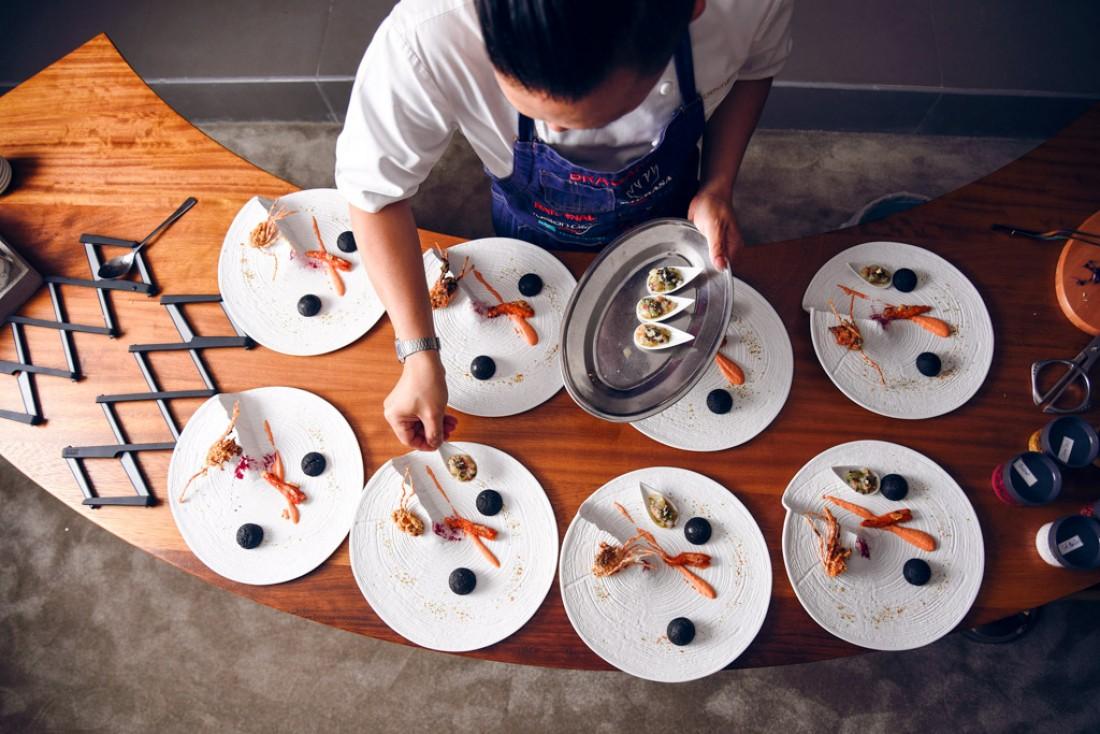 The Experience by Reif Othman : le concept gastronomique le plus ambitieux de Dubaï © DR