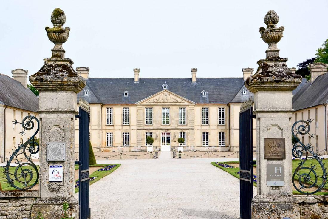 Bienvenue au Château d'Audrieu, hôtel 5-étoiles au cœur du Calvados dans la campagne normande © Emmanuel Laveran