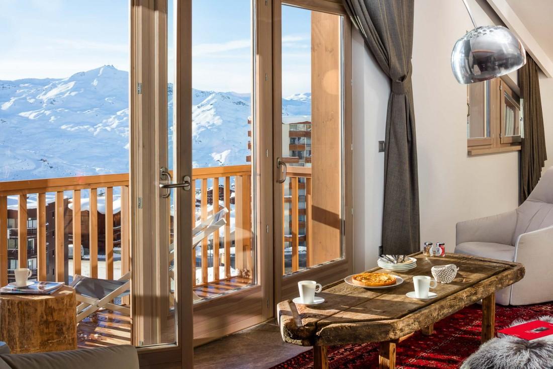 Chambre avec vue au Pashmina, l'un des 5-étoiles les plus hauts d'Europe © DR