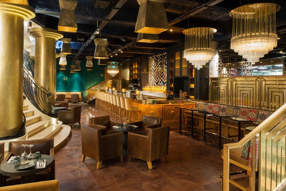 MANKO, côté bar : un décor éblouissant signé Laura Gonzalez © D.Delmas