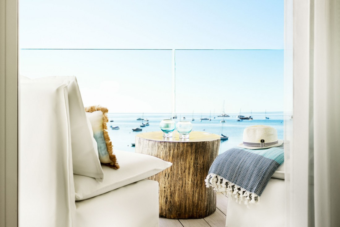 Chambre avec vue au Nobu Hotel Ibiza Bay © Nobu Hotels