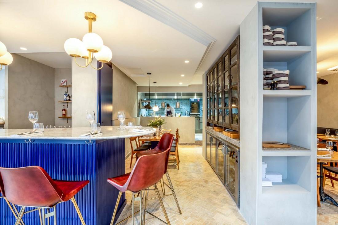 L'intérieur du restaurant Rooster par Frédéric Duca © Julie Limont