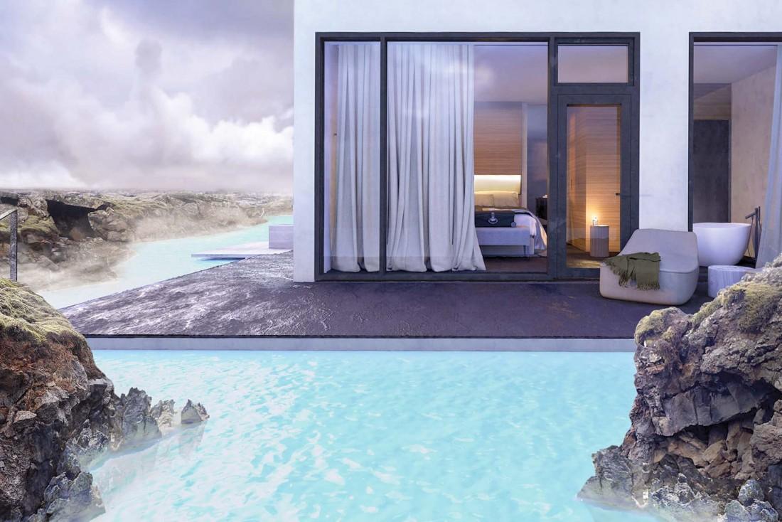 The Retreat at Blue Lagoon en Islande, l'un des nouveaux hôtels les plus attendus de l'année © DR