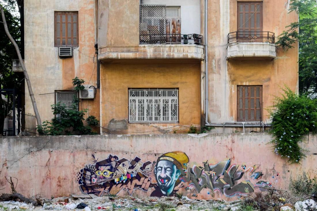Street art dans les rues d'Achrafieh, en plein centre de Beyrouth © YONDER.fr