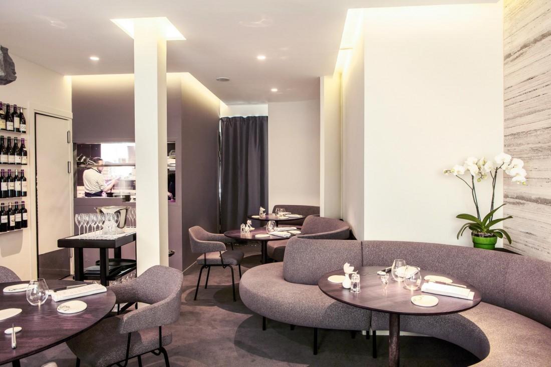 Intérieurs sobres et élégants au Restaurant Alan Geaam © Restaurant AG