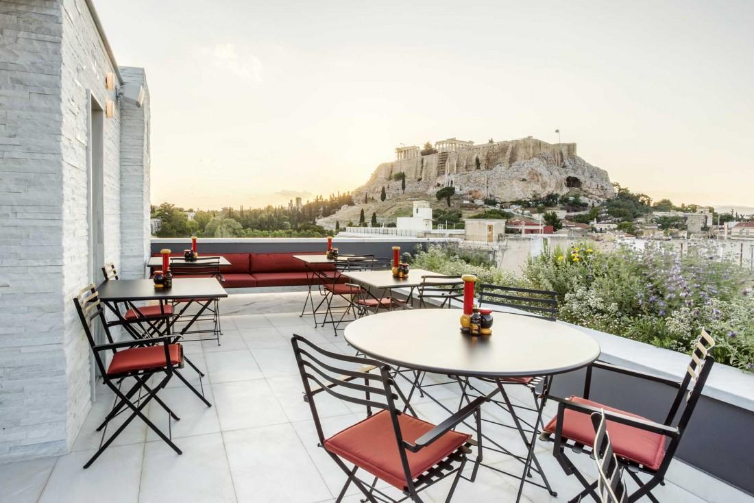 AthensWas, un hôtel design avec vue sur l'Acropole en plein cœur d'Athènes © AthensWas