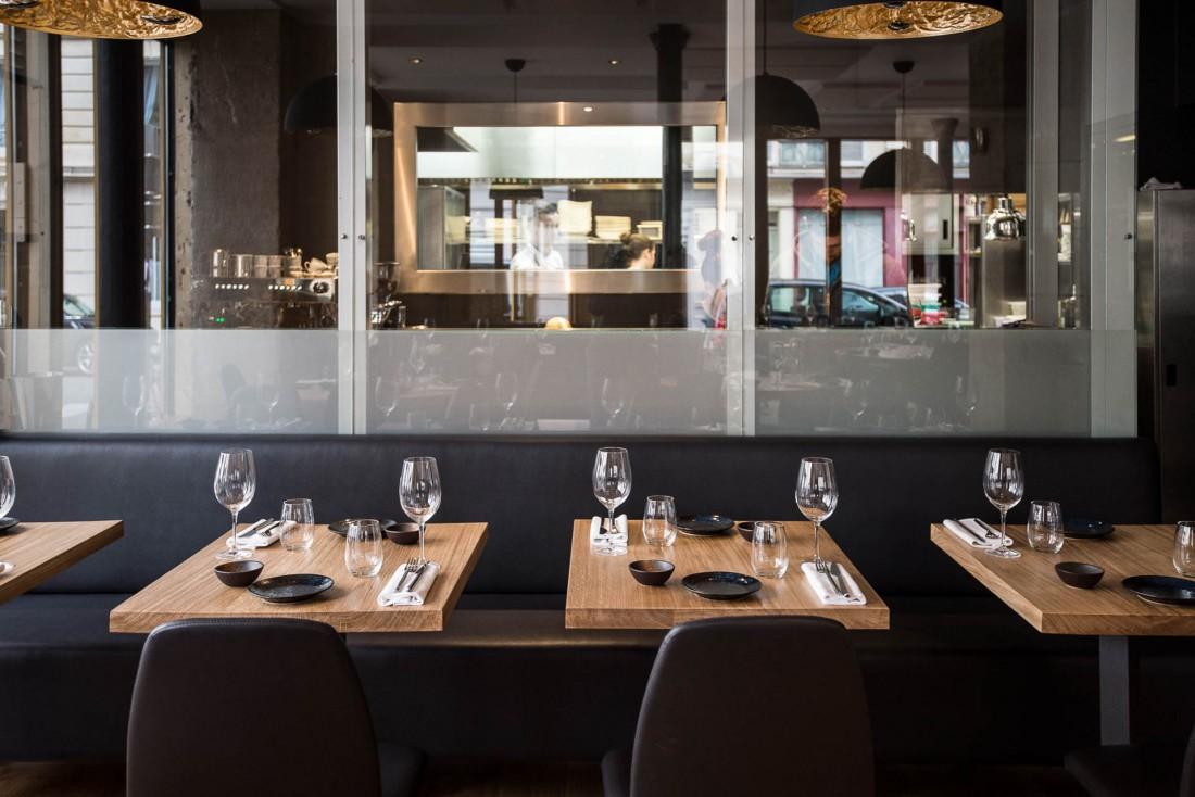 Le restaurant Baieta a ouvert ses portes il y quelques semaines, dans le 5ème arrondissement de Paris © Pierre Lucet Penato