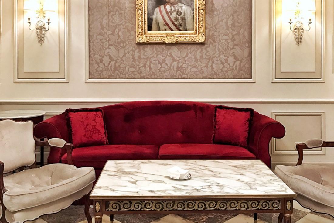L'Hotel Sacher est la référence de l'hôtellerie de luxe à Vienne depuis 1876 © YONDER.fr