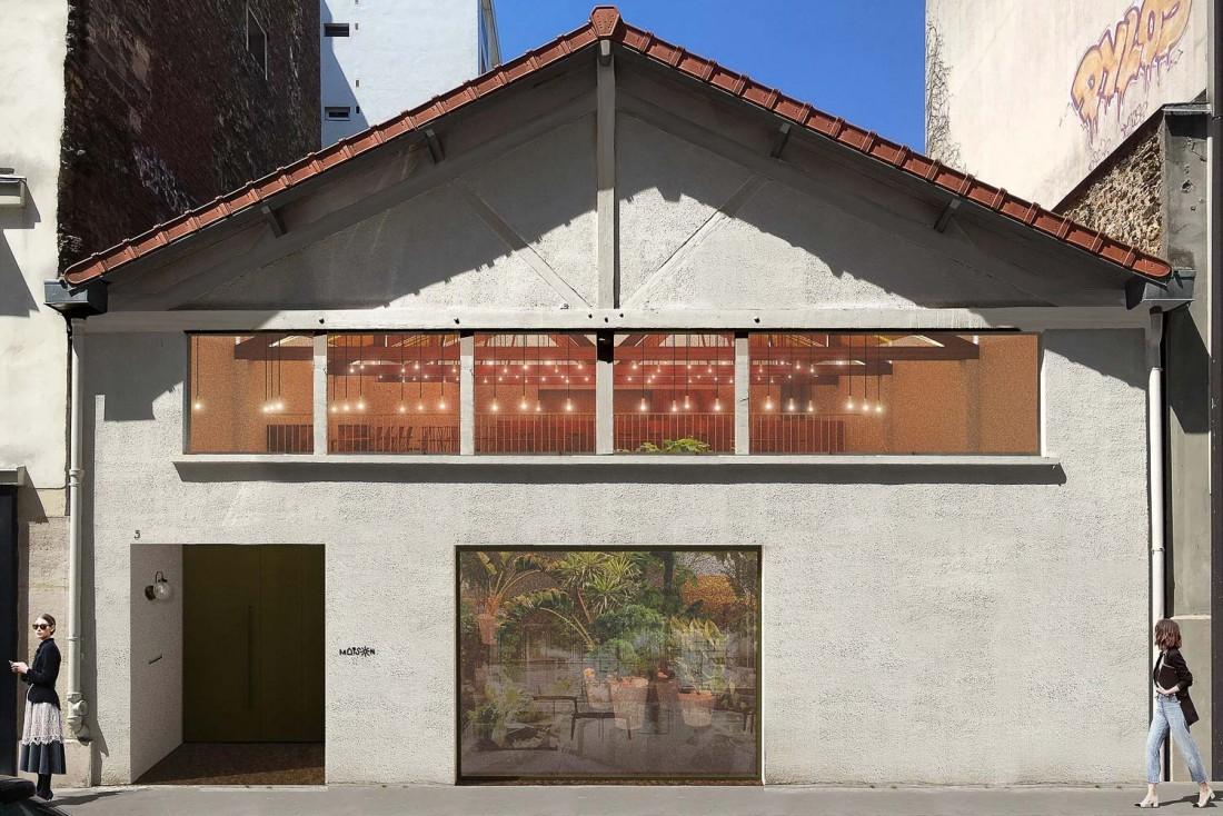 Maison, le nouveau restaurant du chef Sota Atsumi, occupe un espace singulier en plein cœur du 11ème arrondissement © DR