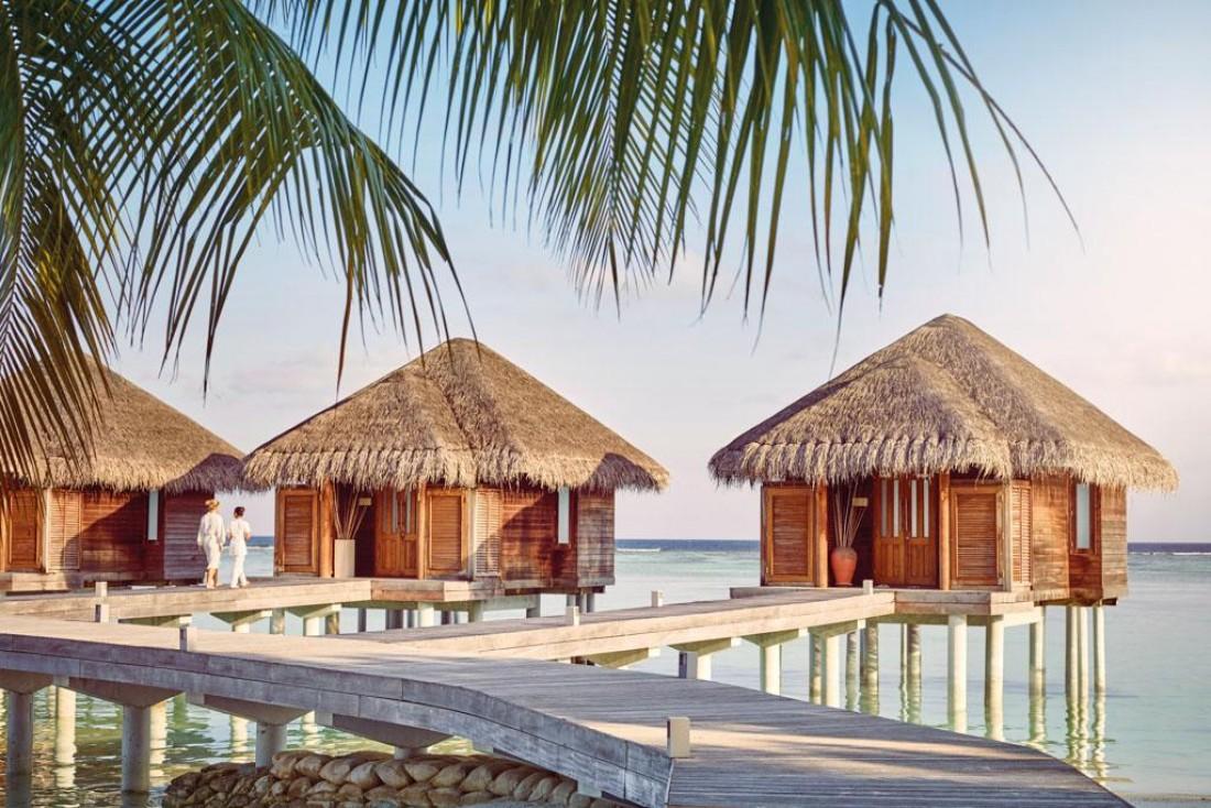 Le LUX* South Ari Atoll, aux Maldives, est l'une des 75 ouvertures d'hôtels les plus marquantes de l'année © Lux* Resorts & Hotels