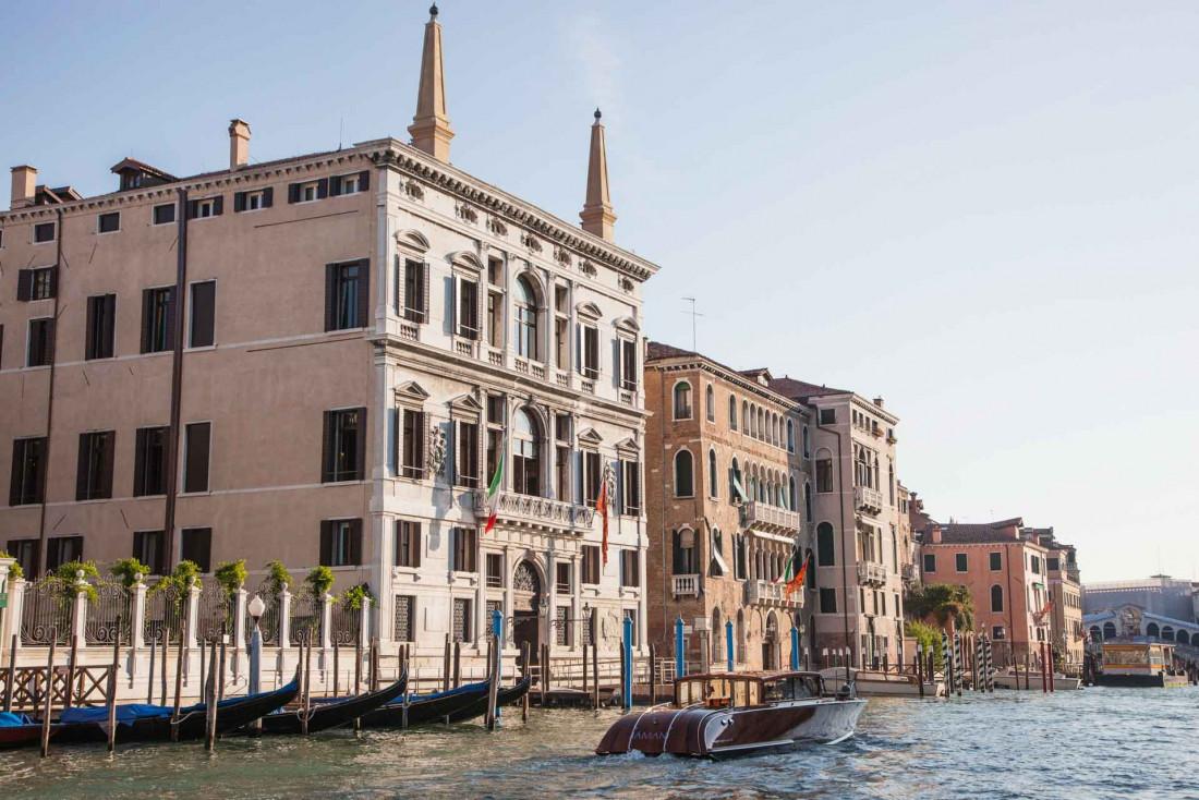 Dolce vita dans un ancien palais à l'Aman Venise © DR