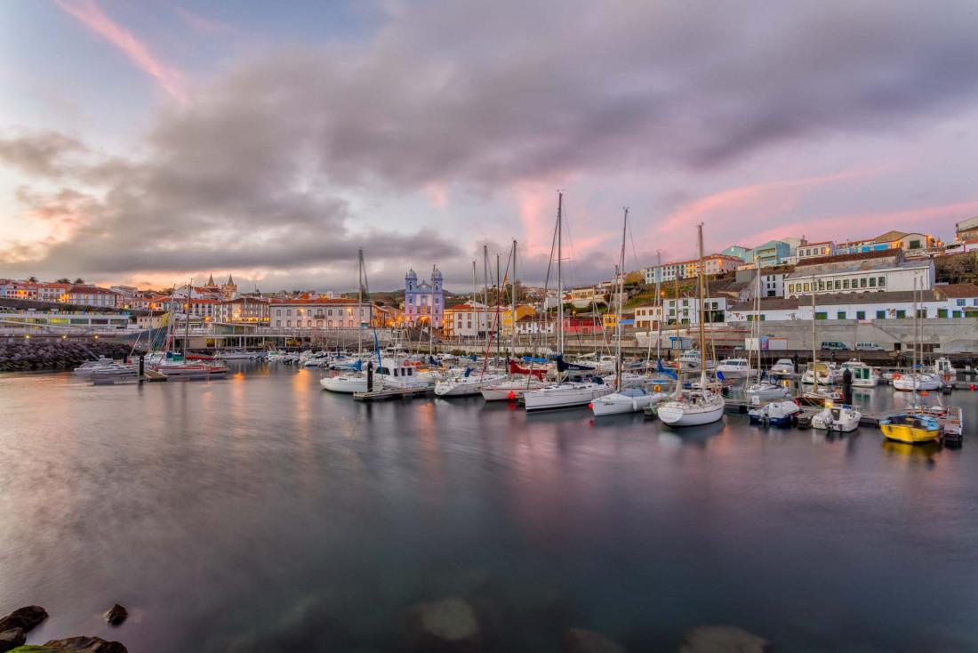 Angra do Heroísmo sur l'île de Terceira, une ville classée à l'UNESCO © DR