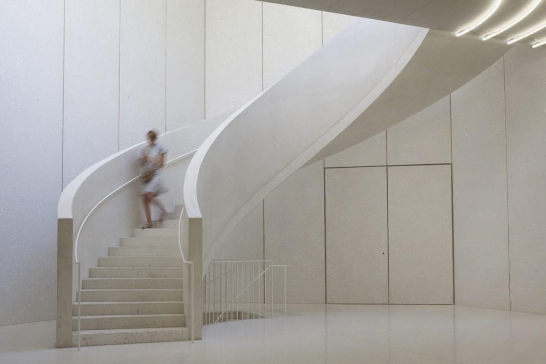 Atrium de la Collection Lambert à Avignon © Berger & Berger