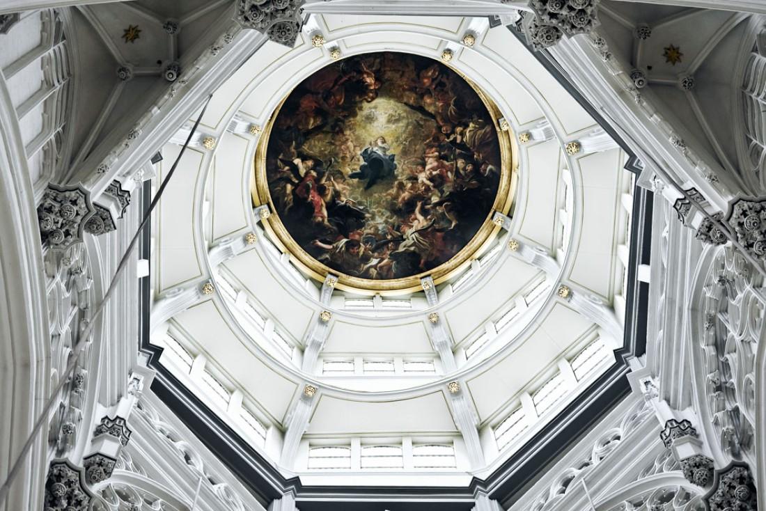 Le dôme de la Cathédrale d'Anvers © Visit Antwerpen