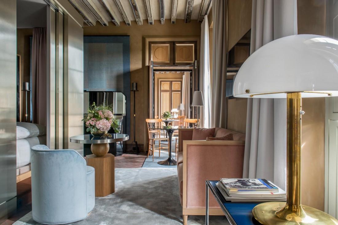 Aux 1er et 2ème étage, six suites d'exception surplombent l'ancienne Place Royale (le nom de la place jusqu'en 1800) © Guillaume de Laubier