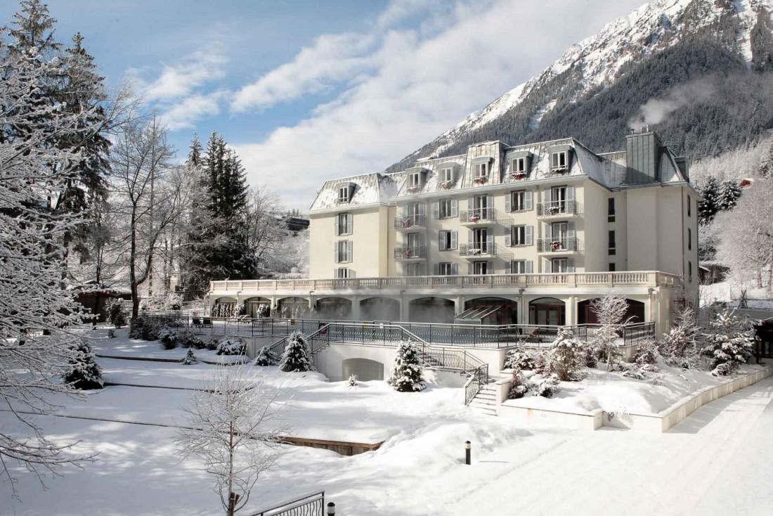 La Folie Douce Hôtel Chamonix occupe 3 bâtiments historiques de la station, un ancien palace des années 1900 © DR