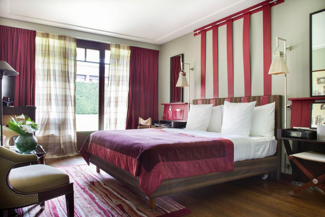 Dans les chambres et suites, on retrouve le style inimitable et chaleureux de Jacques Garcia © G. Gardette