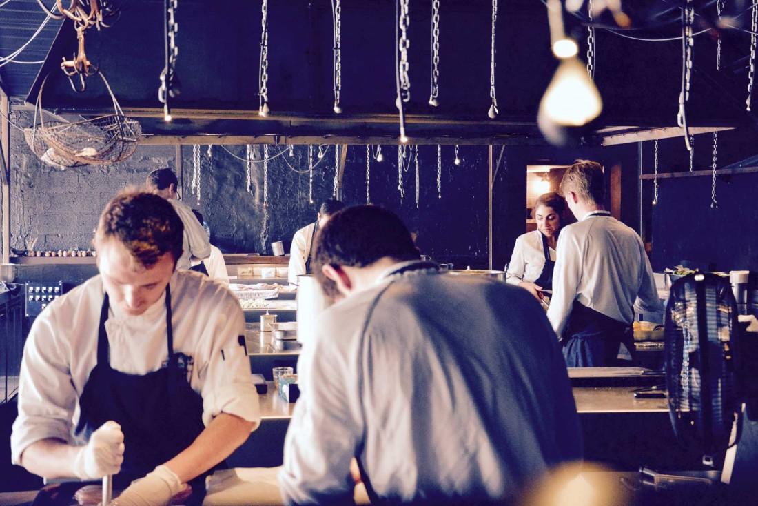 La Grenouillère, côté cuisine © Emmanuel Laveran