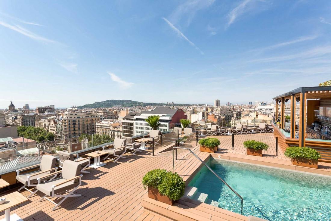 La Dolce Vitae est le rooftop du Majestic Hotel & Spa Barcelona © DR