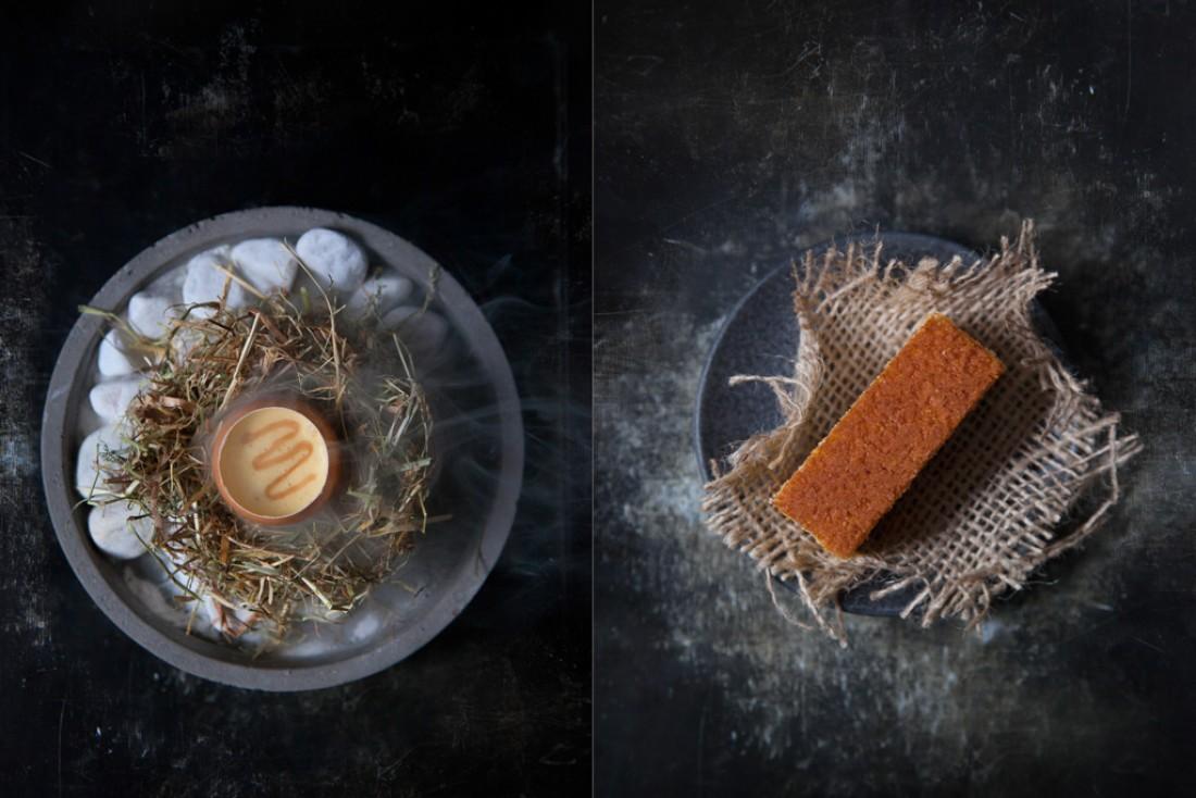 Créations de David Toutain : une cuisine créative bénéficiant d'une scéngraphie soignée © Thaï Toutain