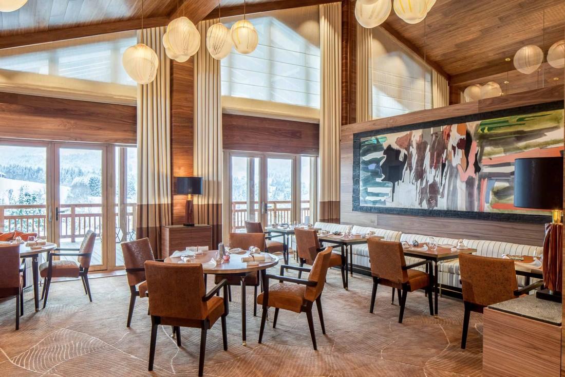 L'intérieur du restaurant gastronomique est aussi luxueux que contemporain © Four Seasons
