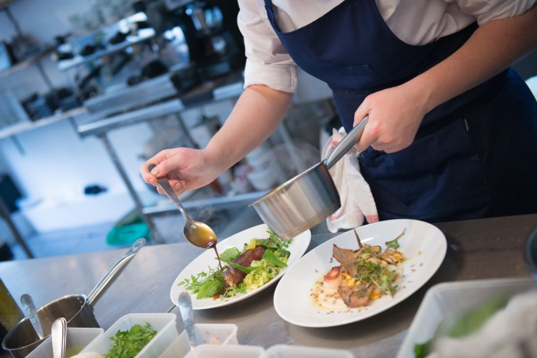 Dans les cuisines © Fulgurances