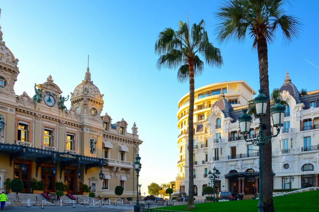 L'Hôtel de Paris Monte-Carlo est situé sur la célèbre Place du Casino à Monaco © Emmanuel Laveran