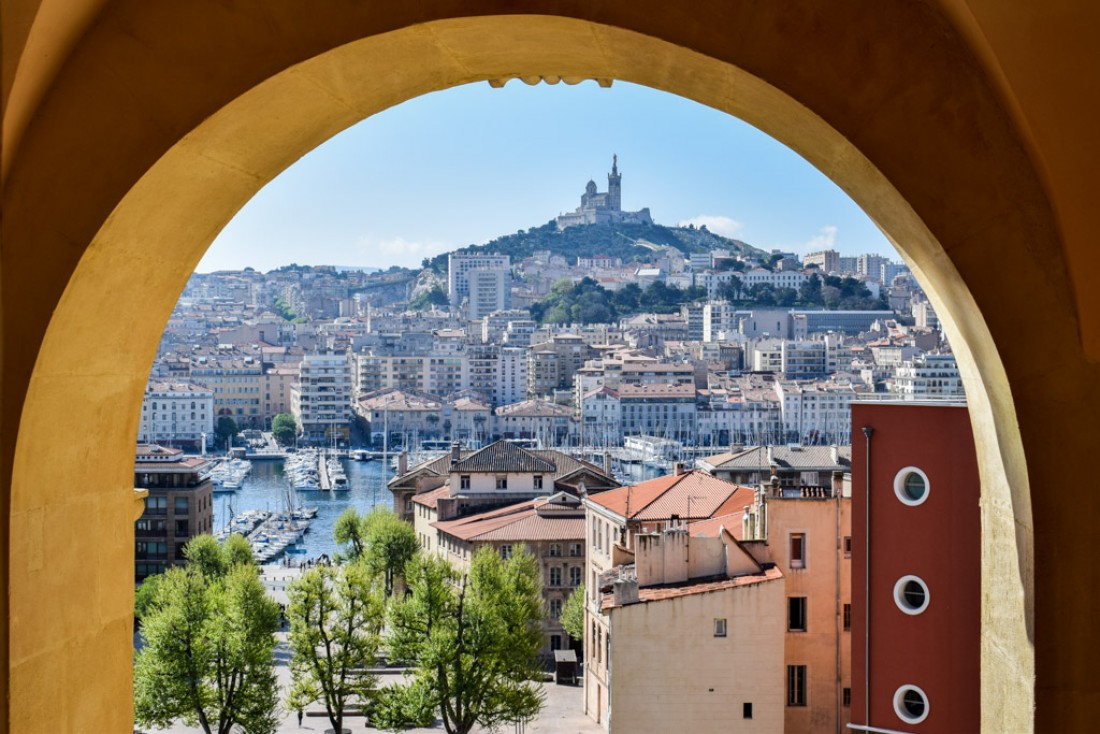 Vue sur Marseille depuis la chambre 629 © YONDER.fr