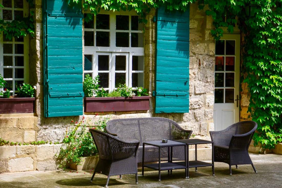 L'extérieur de la bâtisse © Emmanuel Laveran