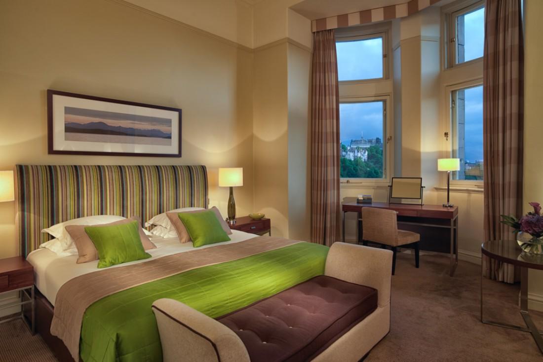 À l'intérieur d'une Superior Deluxe Room, nos chambres préférées © Rocco Forte Hotel