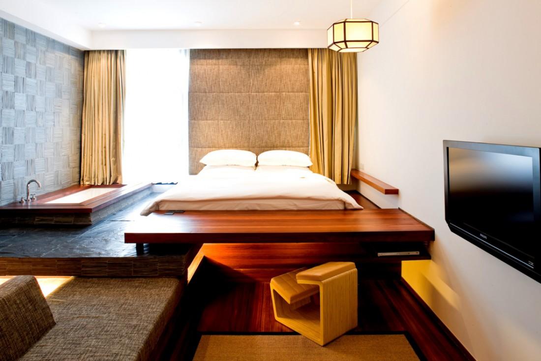 À l'intérieur d'une chambre Studio Lounge, les chambres d'entrée de gamme de l'hôtel © URBN