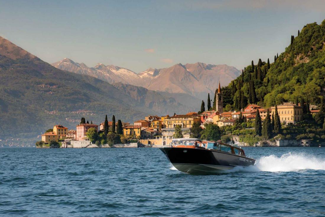 Batt, l'un des Riva du Grand Hotel Tremezzo © Grand Hotel Tremezzo