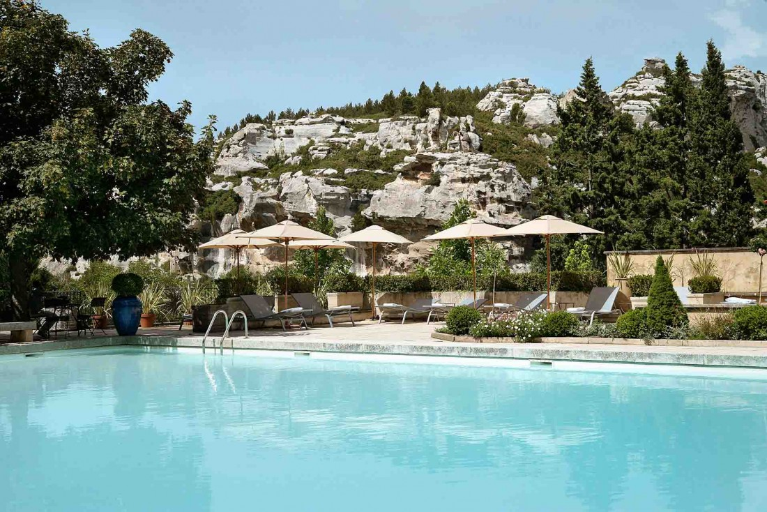 Plongée dans les paysages des Baux-de-Provence à Baumanière © L. Parrault