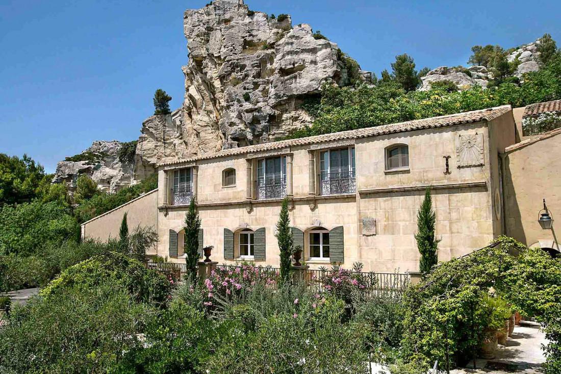 Baumanière, une adresse imprégnéé d'histoire et paisible propice à la concentration et à la créativité © L. Parrault