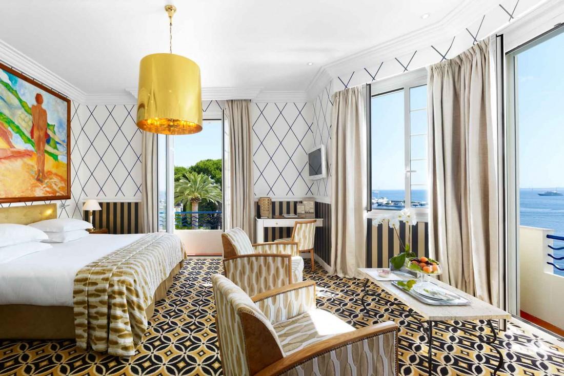 Chambre vue sur mer à l'Hôtel Belles Rives © Hôtel Belles Rives